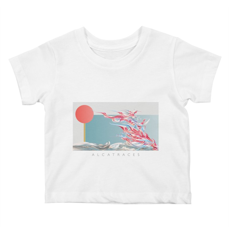 Alcatraces - Gannets Kids Baby T-Shirt by mu's Artist Shop