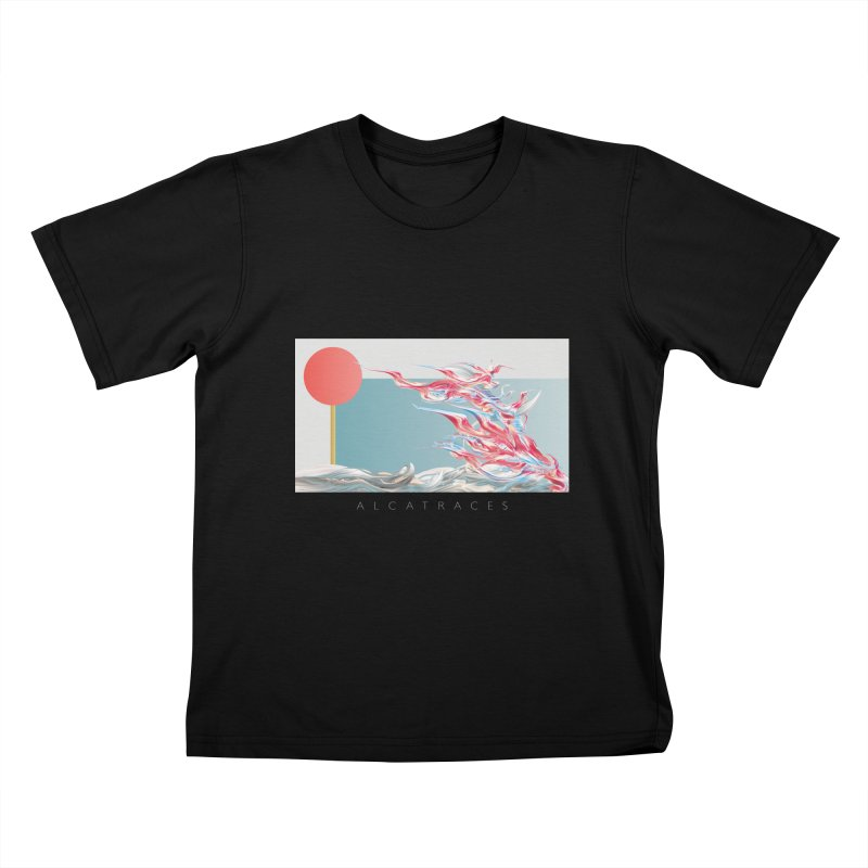 Alcatraces - Gannets Kids T-Shirt by mu's Artist Shop