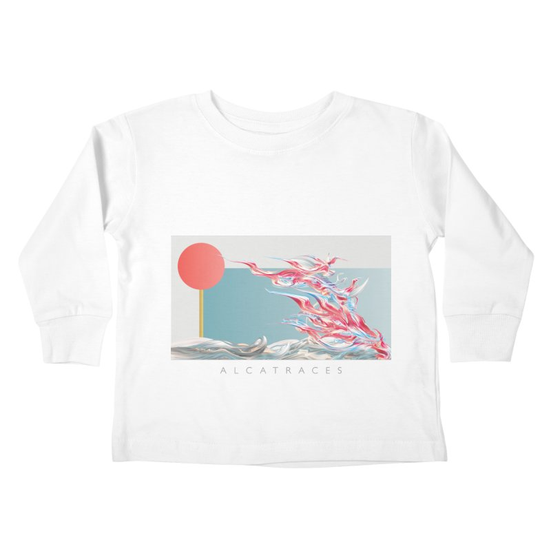 Alcatraces - Gannets Kids Toddler Longsleeve T-Shirt by mu's Artist Shop