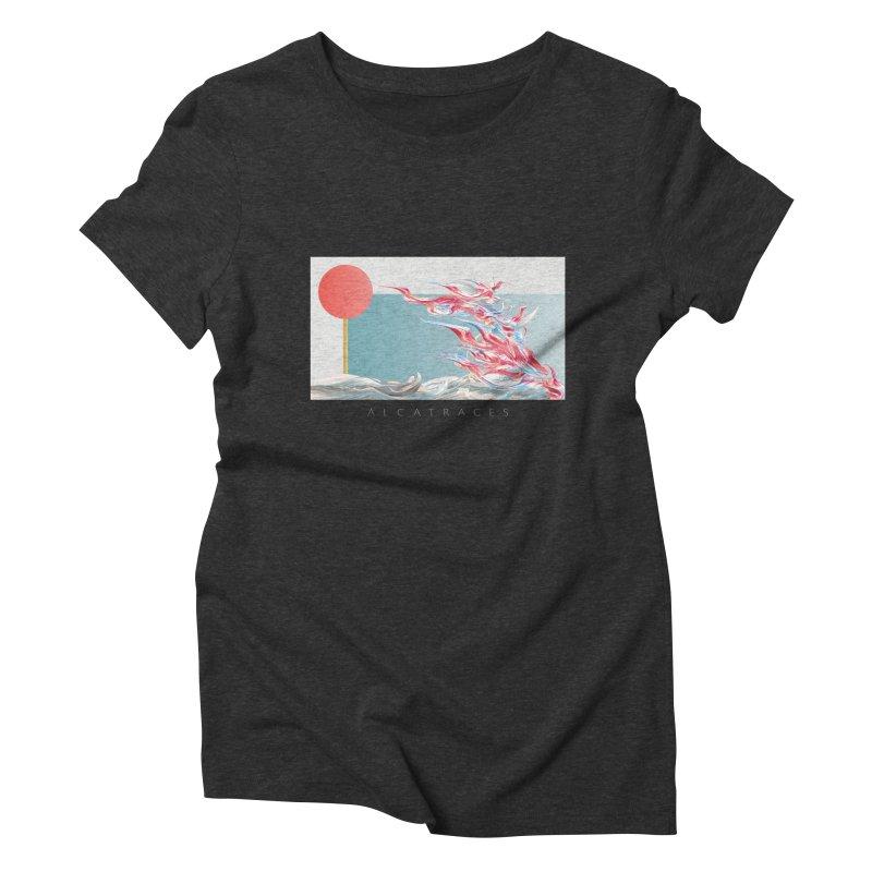 Alcatraces - Gannets Women's Triblend T-Shirt by mu's Artist Shop