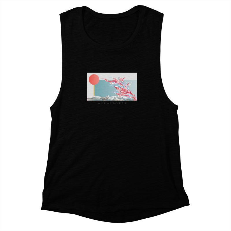 Alcatraces - Gannets Women's Muscle Tank by mu's Artist Shop