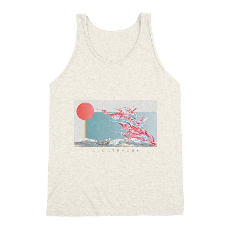 Alcatraces - Gannets Men's Triblend Tank by mu's Artist Shop