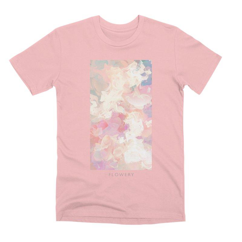 FLOWERY Men's Premium T-Shirt by mu's Artist Shop