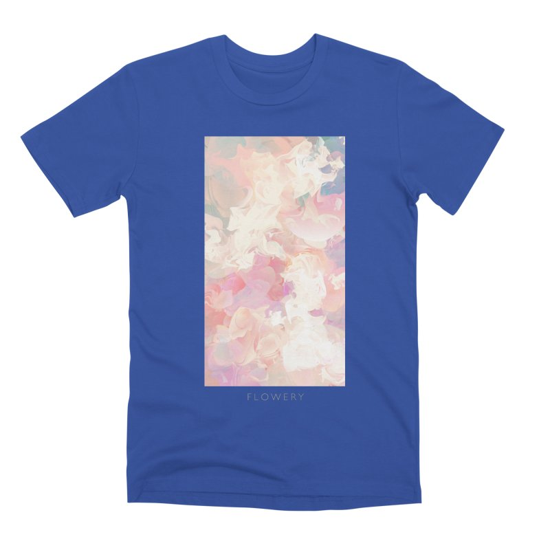 FLOWERY Men's Premium T-Shirt by mu's Artist Shop