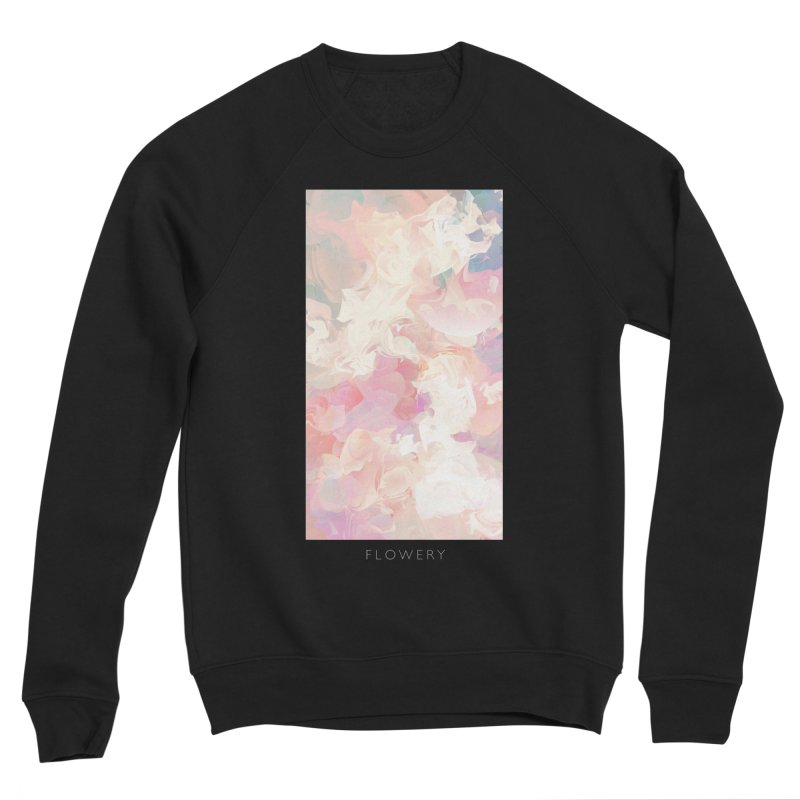 FLOWERY Women's Sponge Fleece Sweatshirt by mu's Artist Shop