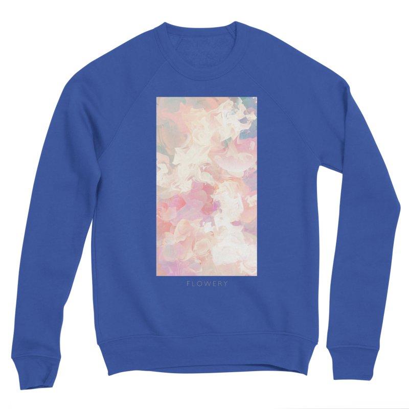 FLOWERY Men's Sponge Fleece Sweatshirt by mu's Artist Shop
