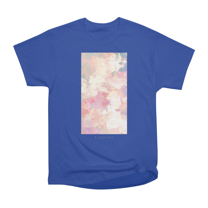 FLOWERY Men's Heavyweight T-Shirt by mu's Artist Shop