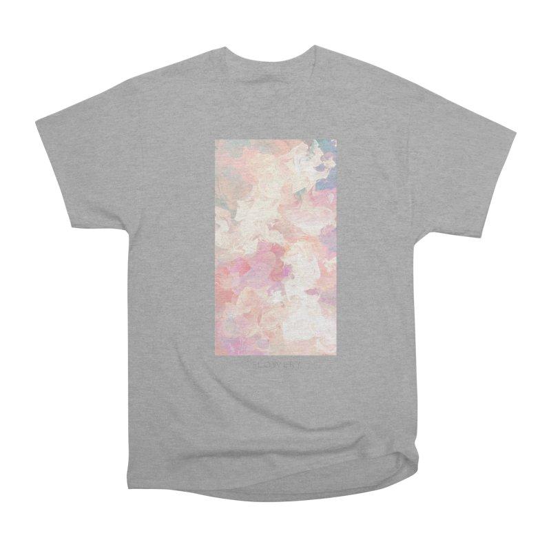FLOWERY Men's Heavyweight T-Shirt by mu's Artist Shop