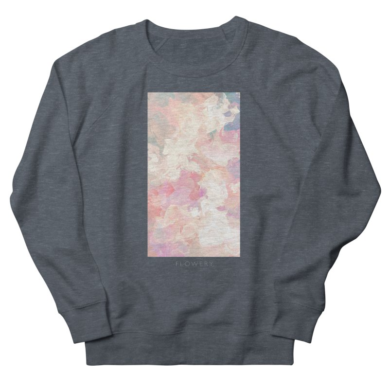 FLOWERY Women's French Terry Sweatshirt by mu's Artist Shop