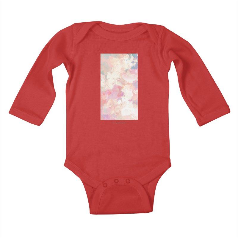 FLOWERY Kids Baby Longsleeve Bodysuit by mu's Artist Shop