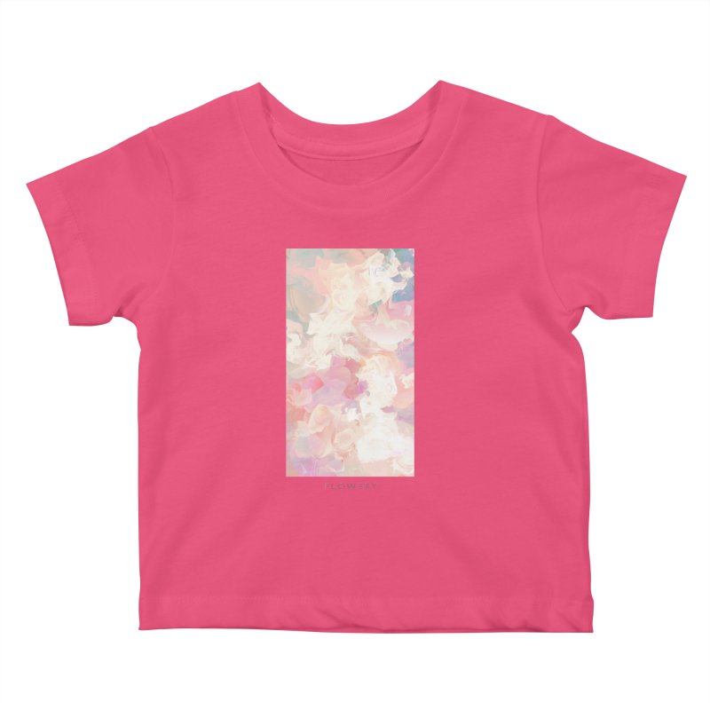 FLOWERY Kids Baby T-Shirt by mu's Artist Shop