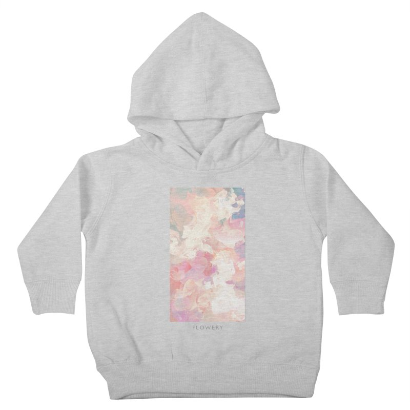 FLOWERY Kids Toddler Pullover Hoody by mu's Artist Shop
