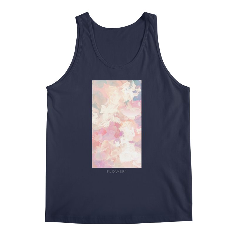 FLOWERY Men's Regular Tank by mu's Artist Shop