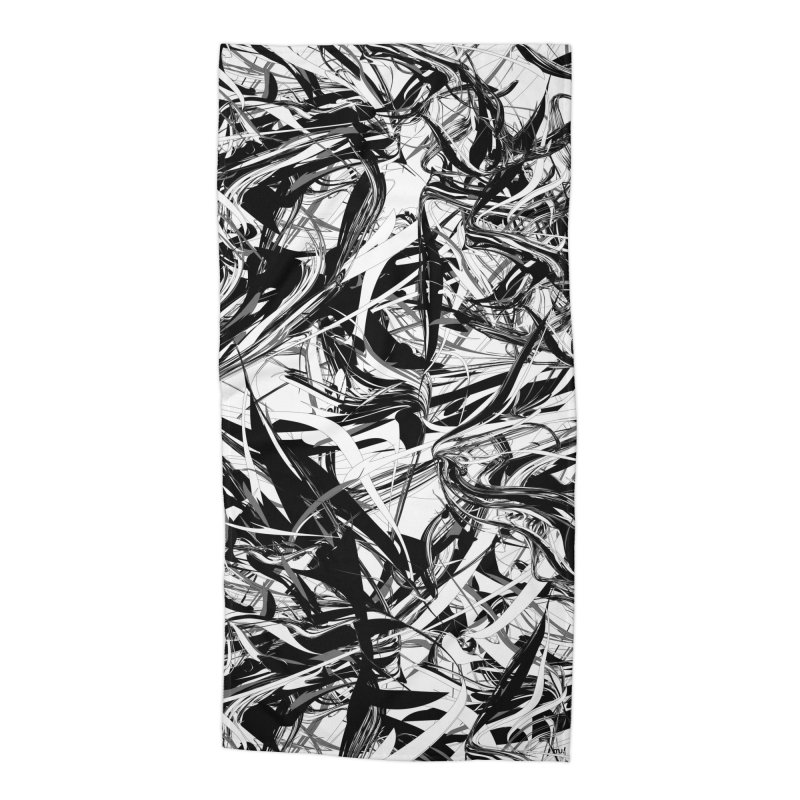 INK-IT! Accessories Beach Towel by mu's Artist Shop