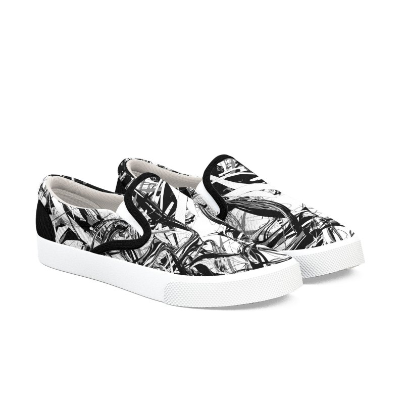 INK-IT! in Men's Slip-On Shoes by mu's Artist Shop