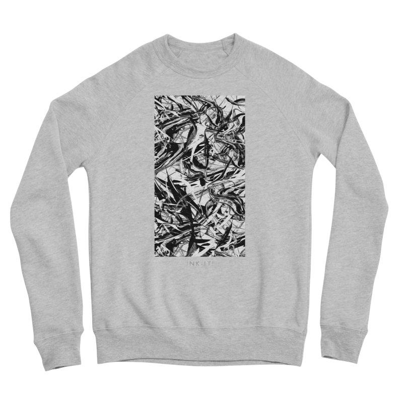 INK-IT! Women's Sponge Fleece Sweatshirt by mu's Artist Shop