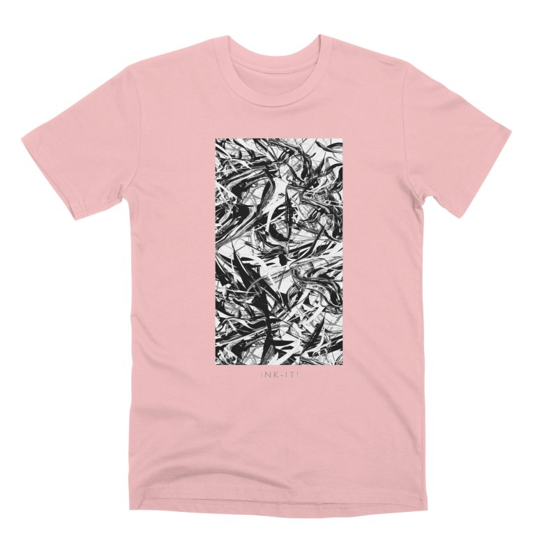 INK-IT! Men's Premium T-Shirt by mu's Artist Shop