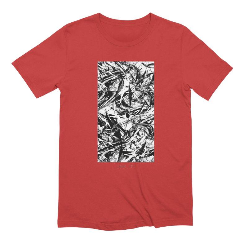 INK-IT! Men's Extra Soft T-Shirt by mu's Artist Shop