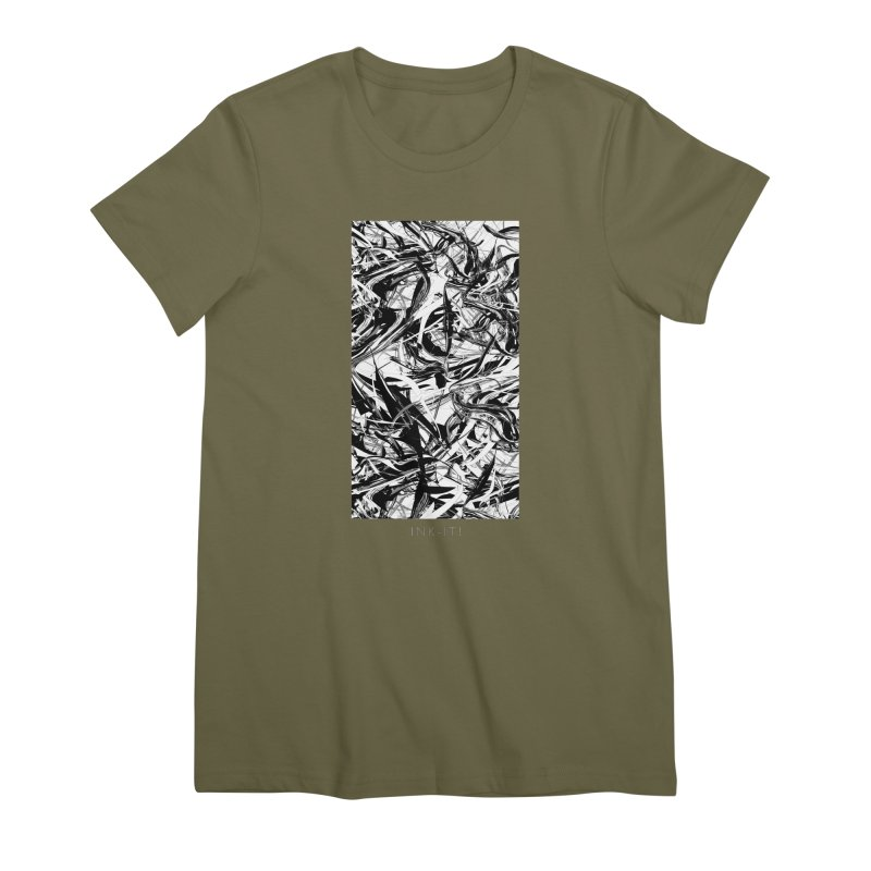 INK-IT! Women's Premium T-Shirt by mu's Artist Shop
