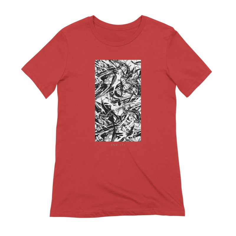 INK-IT! Women's Extra Soft T-Shirt by mu's Artist Shop