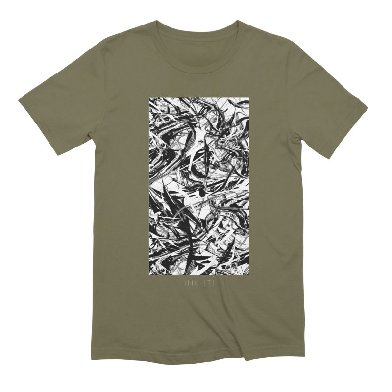 INK-IT! Men's Extra Soft T-Shirt by mu's Artist Shop