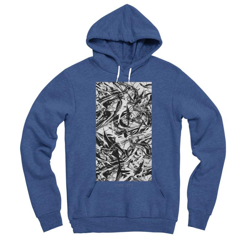 INK-IT! Men's Sponge Fleece Pullover Hoody by mu's Artist Shop