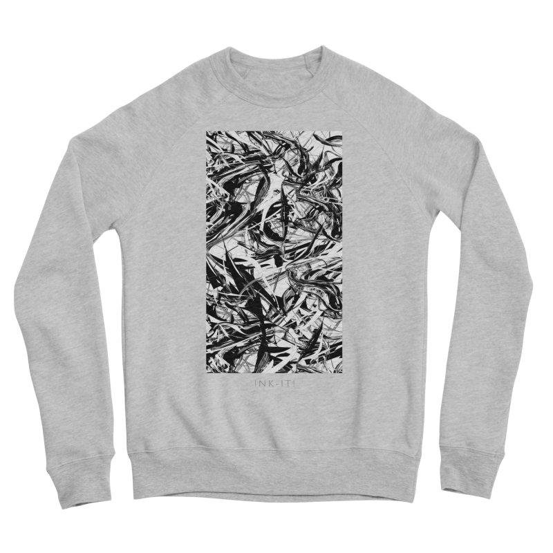 INK-IT! Men's Sponge Fleece Sweatshirt by mu's Artist Shop