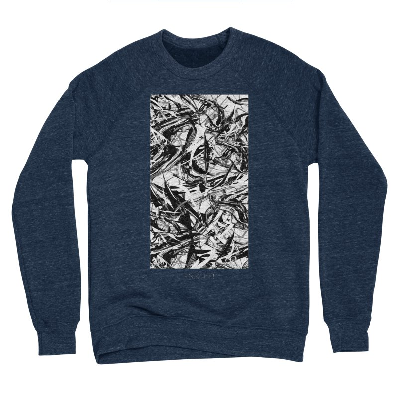 INK-IT! Men's Sponge Fleece Sweatshirt by mu's Artist Shop