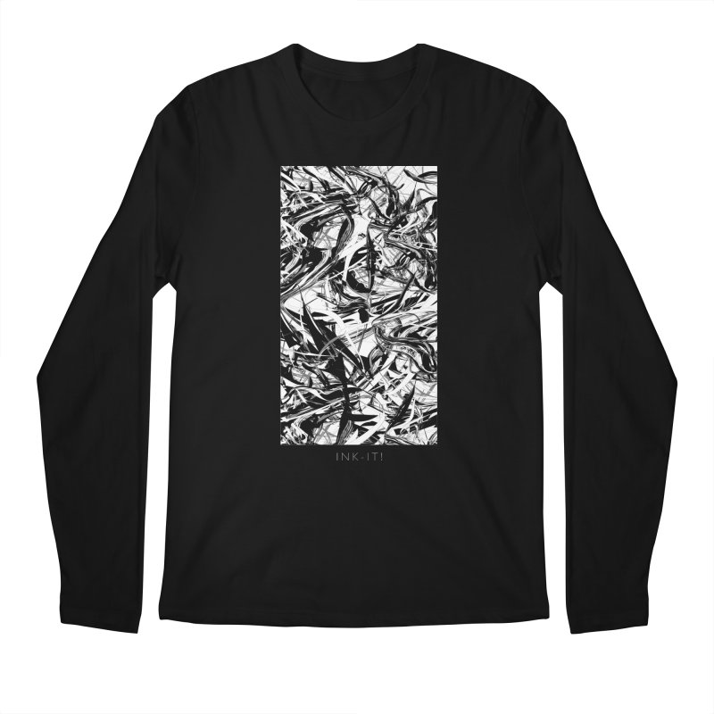 INK-IT! Men's Regular Longsleeve T-Shirt by mu's Artist Shop