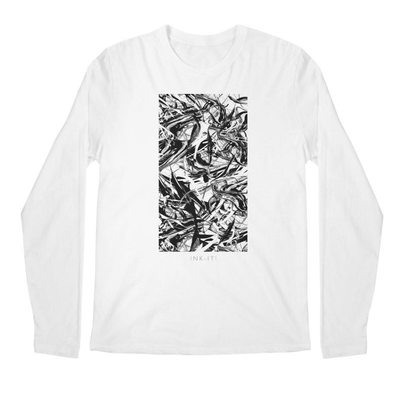 INK-IT! Men's Regular Longsleeve T-Shirt by mu's Artist Shop
