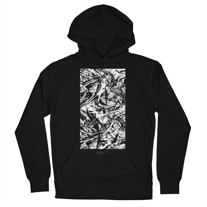 INK-IT! Women's French Terry Pullover Hoody by mu's Artist Shop