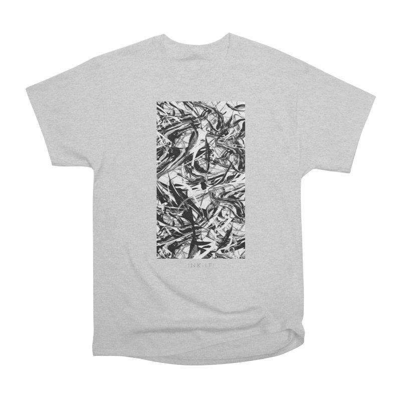 INK-IT! Women's Heavyweight Unisex T-Shirt by mu's Artist Shop
