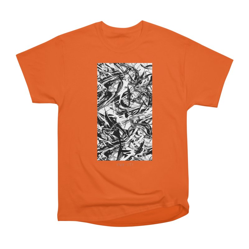INK-IT! Women's Heavyweight Unisex T-Shirt by mu's Artist Shop
