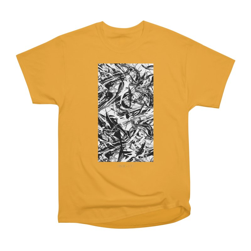 INK-IT! Men's Heavyweight T-Shirt by mu's Artist Shop