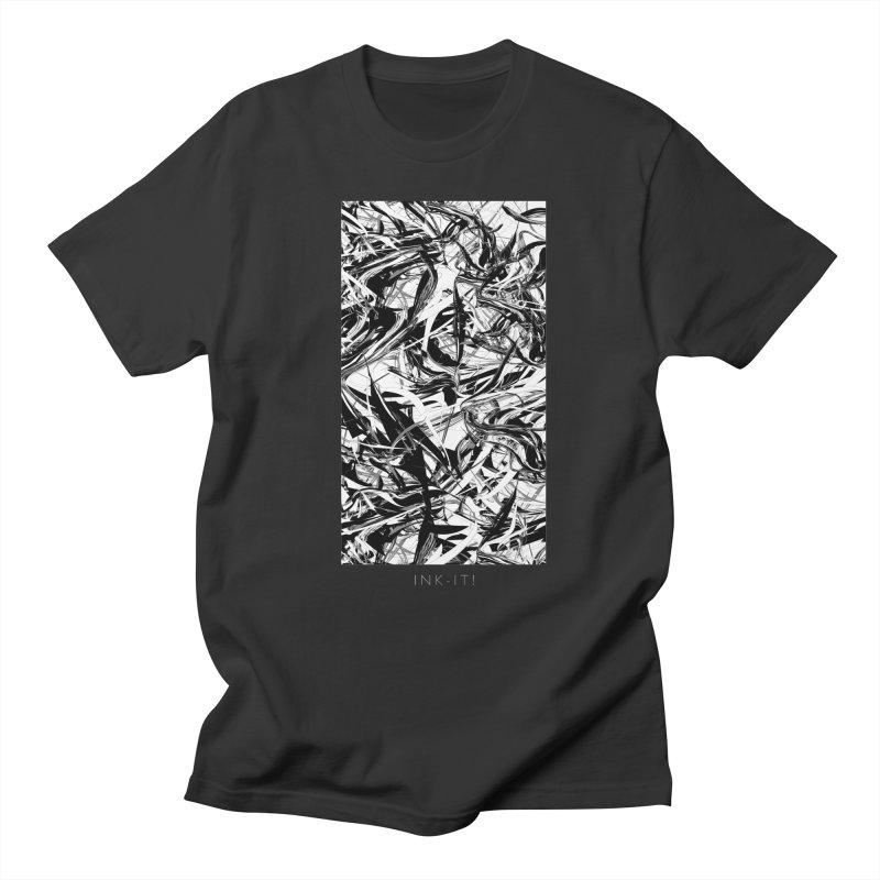 INK-IT! Men's Regular T-Shirt by mu's Artist Shop