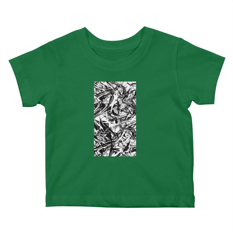 INK-IT! Kids Baby T-Shirt by mu's Artist Shop
