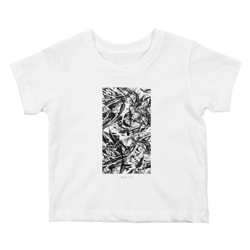 INK-IT! Kids Baby T-Shirt by mu's Artist Shop