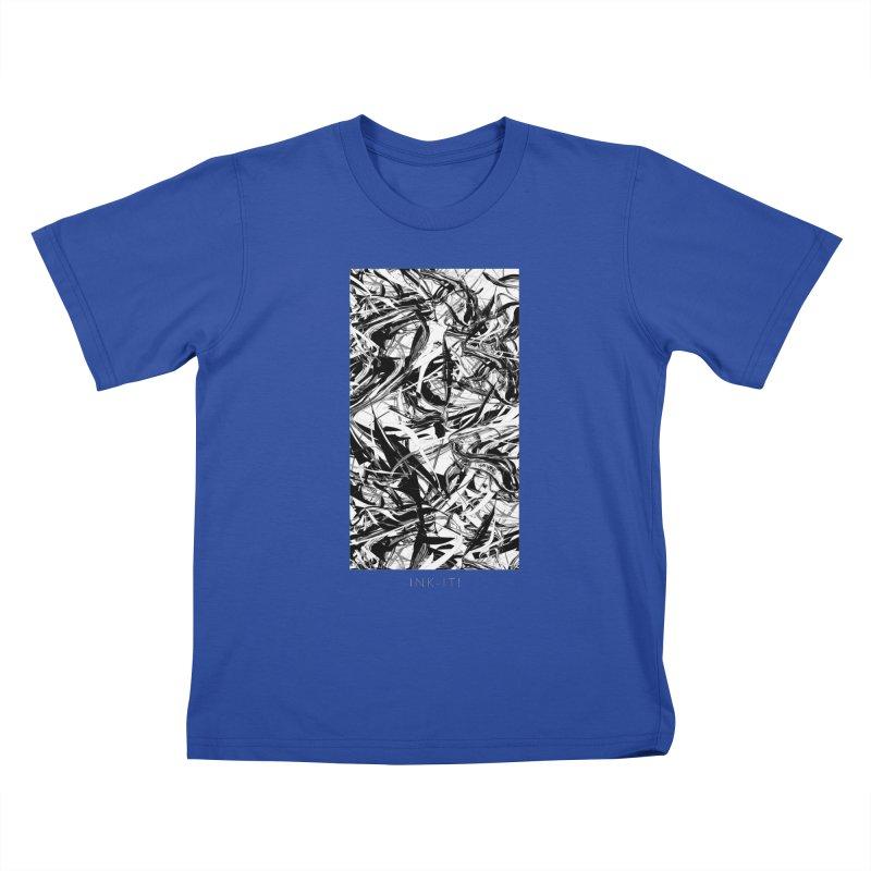 INK-IT! Kids T-Shirt by mu's Artist Shop