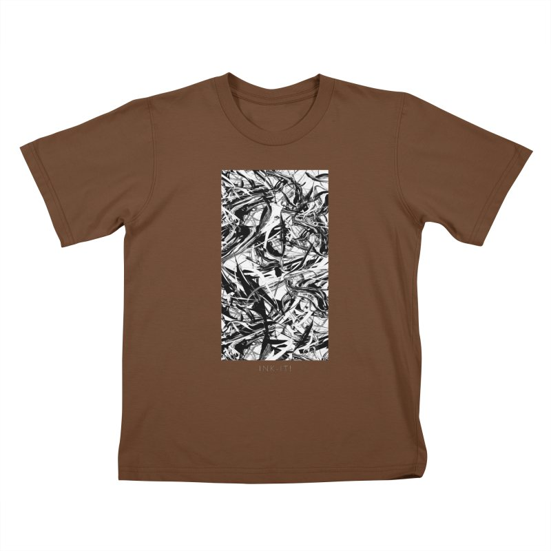 INK-IT! Kids T-Shirt by mu's Artist Shop