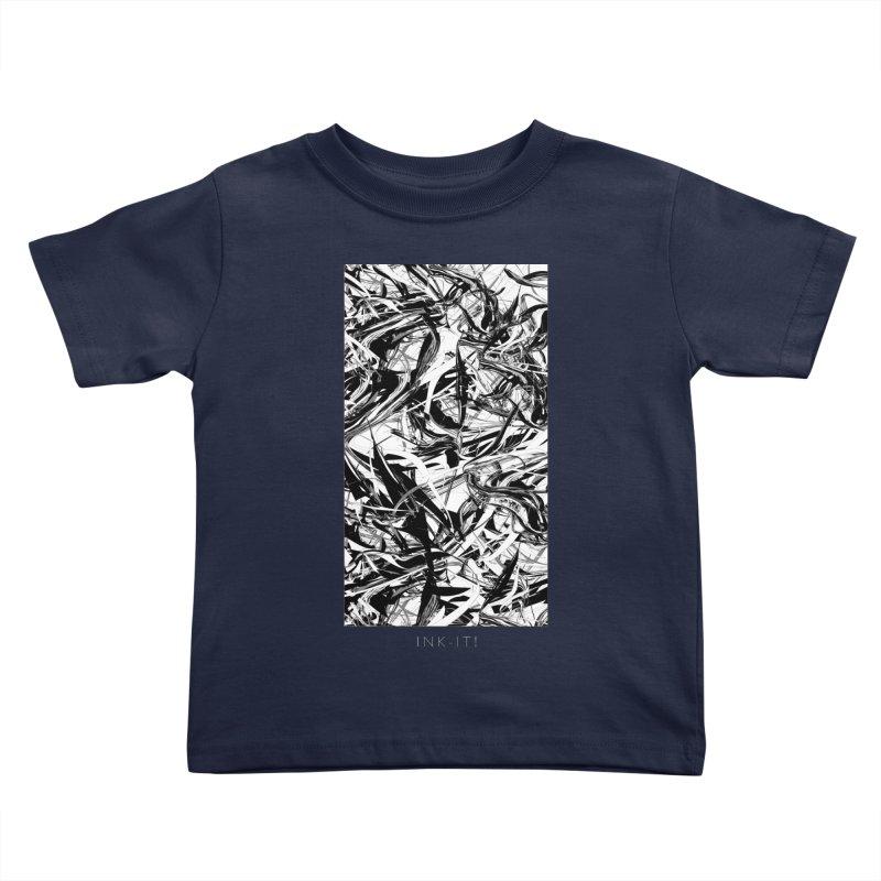 INK-IT! Kids Toddler T-Shirt by mu's Artist Shop