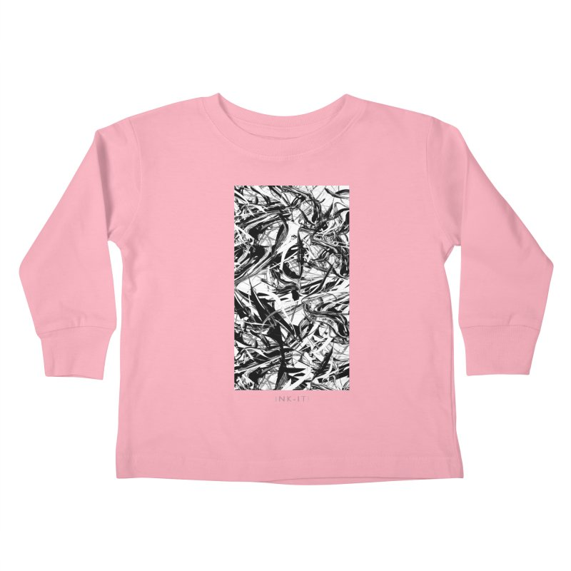 INK-IT! Kids Toddler Longsleeve T-Shirt by mu's Artist Shop