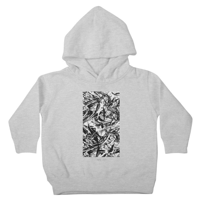 INK-IT! Kids Toddler Pullover Hoody by mu's Artist Shop