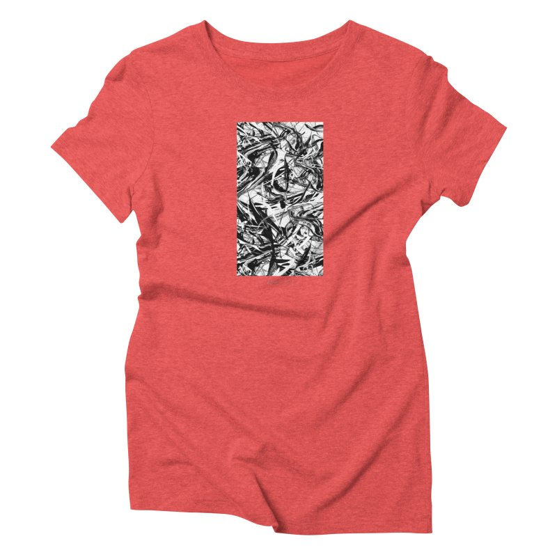 INK-IT! Women's Triblend T-Shirt by mu's Artist Shop