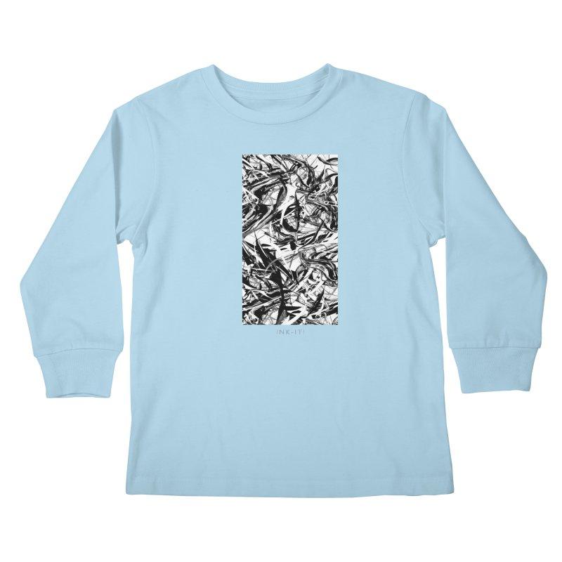 INK-IT! Kids Longsleeve T-Shirt by mu's Artist Shop