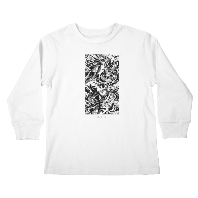 INK-IT! Kids Longsleeve T-Shirt by mu's Artist Shop