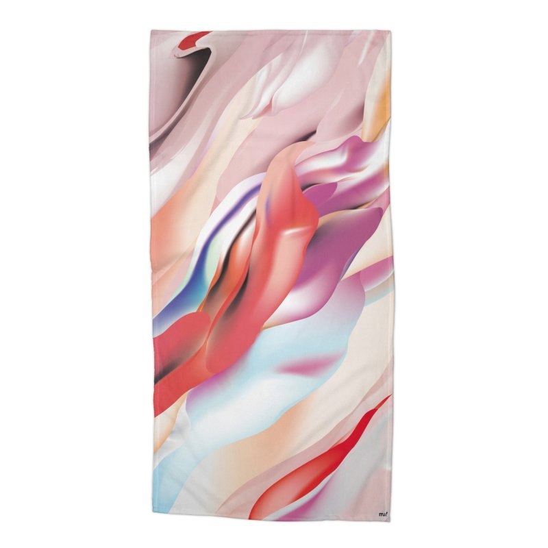 UNDERCURRENTS Accessories Beach Towel by mu's Artist Shop