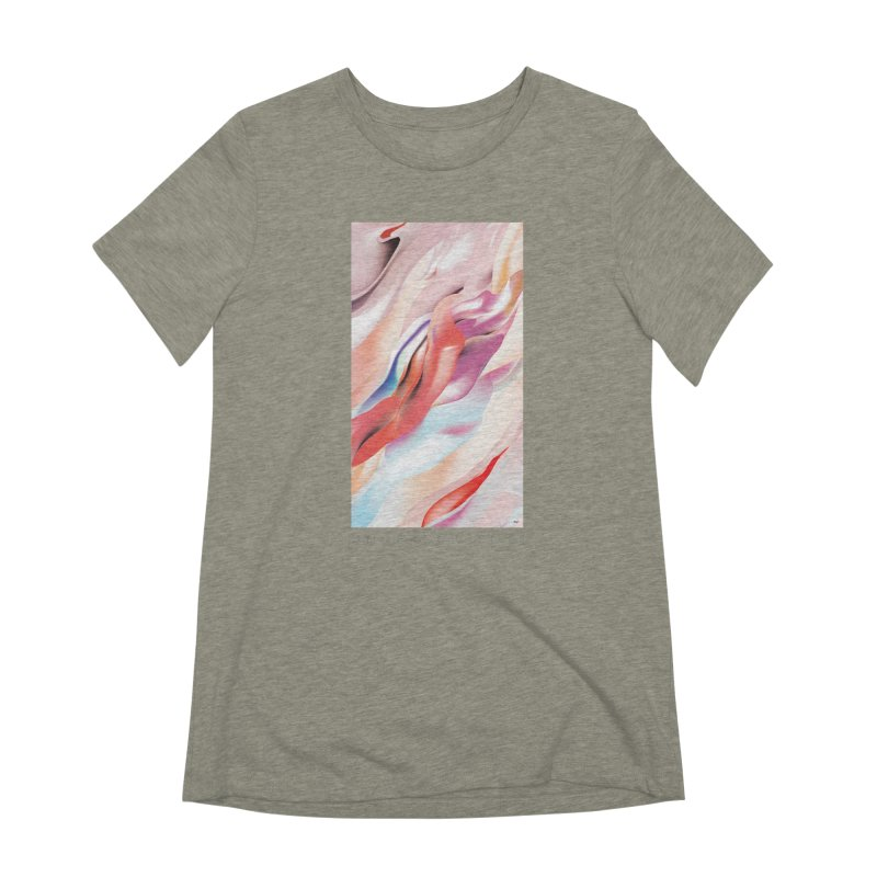 UNDERCURRENTS Women's Extra Soft T-Shirt by mu's Artist Shop