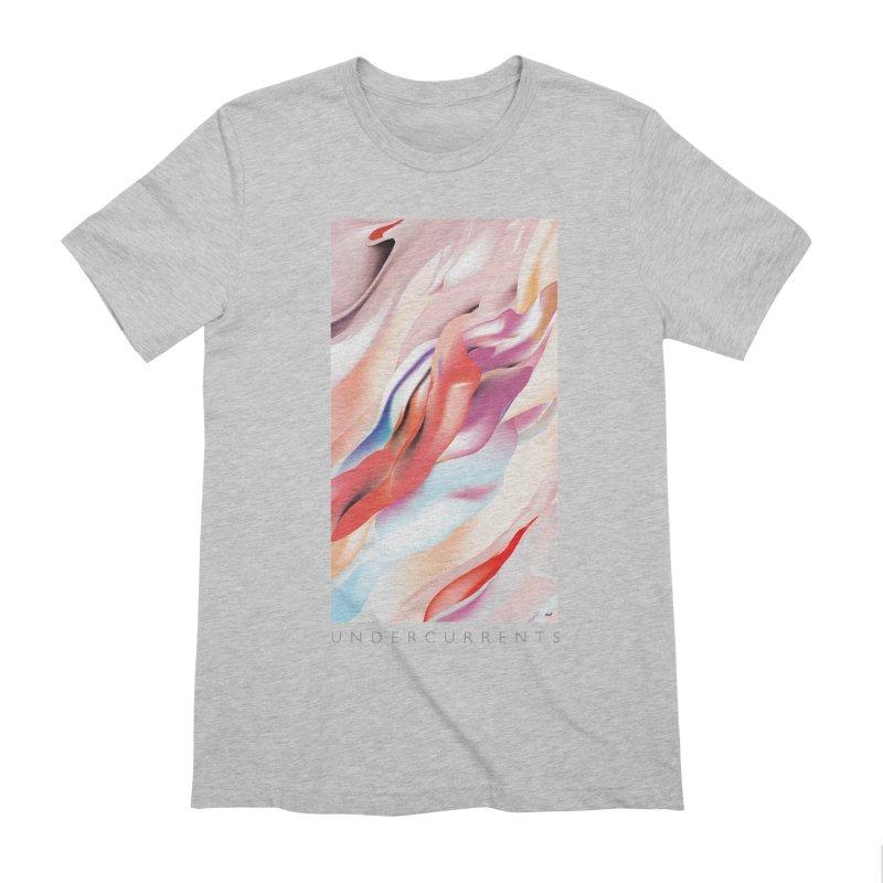 UNDERCURRENTS Men's Extra Soft T-Shirt by mu's Artist Shop