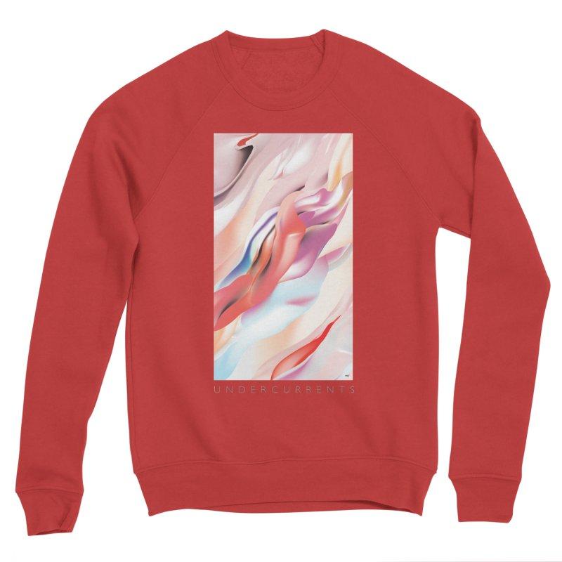 UNDERCURRENTS Women's Sponge Fleece Sweatshirt by mu's Artist Shop