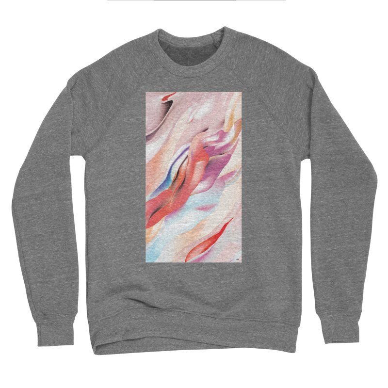 UNDERCURRENTS Men's Sponge Fleece Sweatshirt by mu's Artist Shop